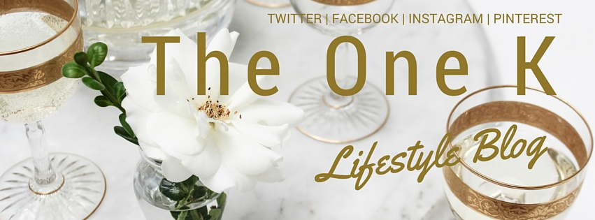 The One K Lifestyle Blog