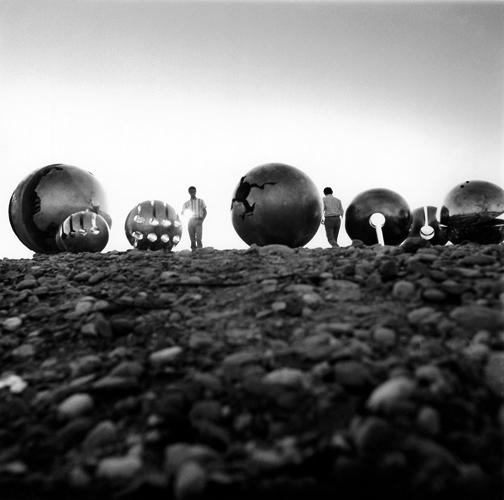 Gruppo di Rotanti sulle rive del Ticino, Italy 1968