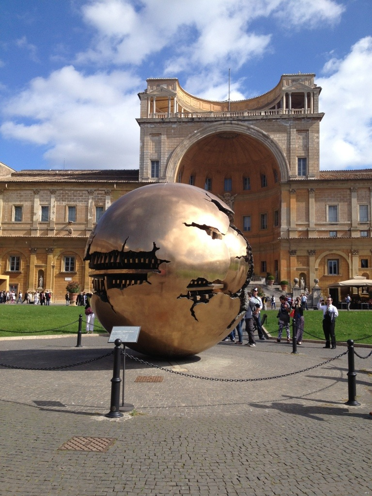Sphere Within Sphere, Vatican City