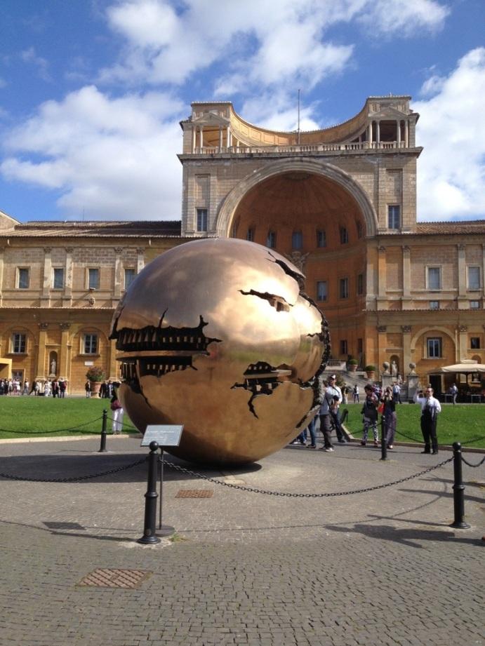 Sphere Within Sphere, Vatican City