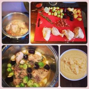 Pollo alla Contadina con Verdure