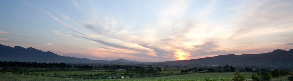 Sunset over Avondale