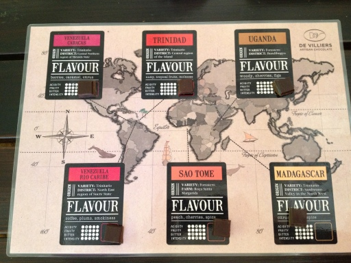 Cocoa beans from across the world