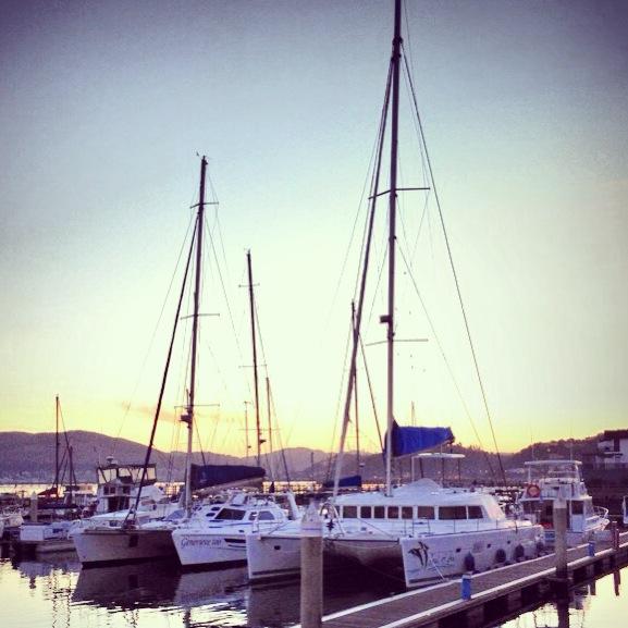 Sunset yacht cruise on Knysna Lagoon