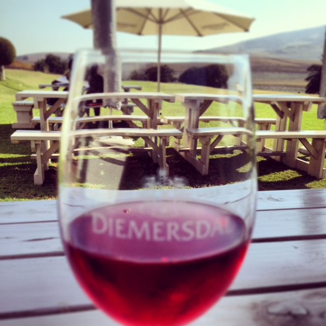 Diemersdal Sauvignon Rosé 2012