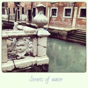 Streets of water, Venezia