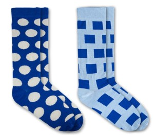 Nic Socks - Two Blue Pack