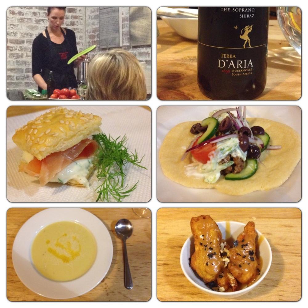 D'Aria & The Food Fox evening