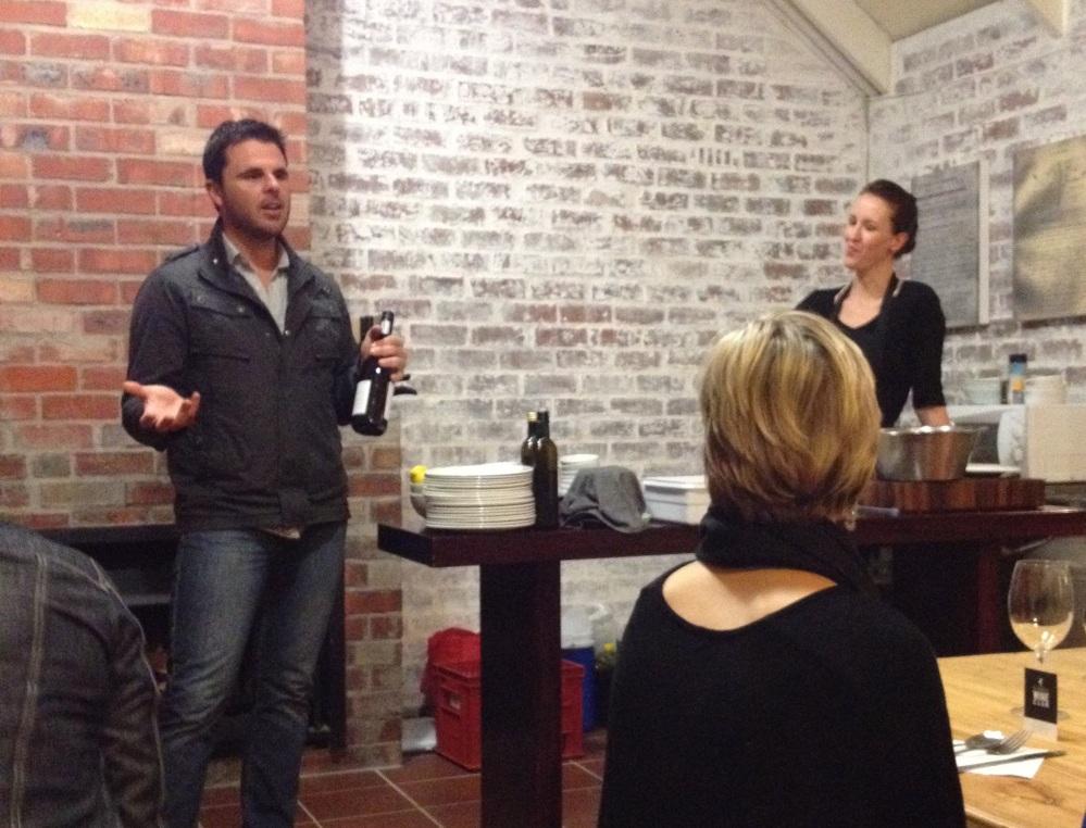 Rudi, winemaker of D'Aria