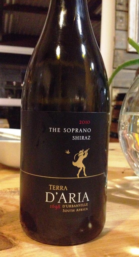 The Soprano Shiraz 2010