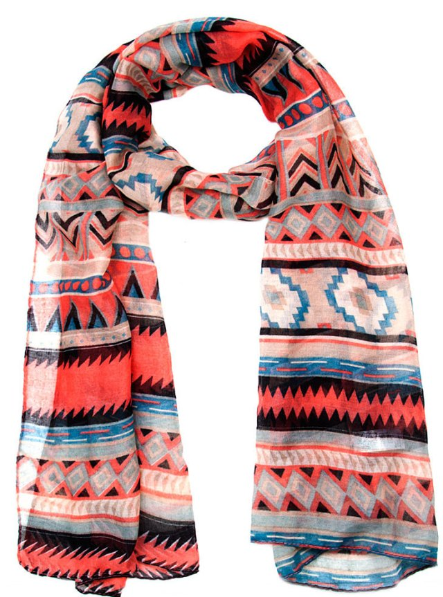 Mr Price Aztec Woven Scarf