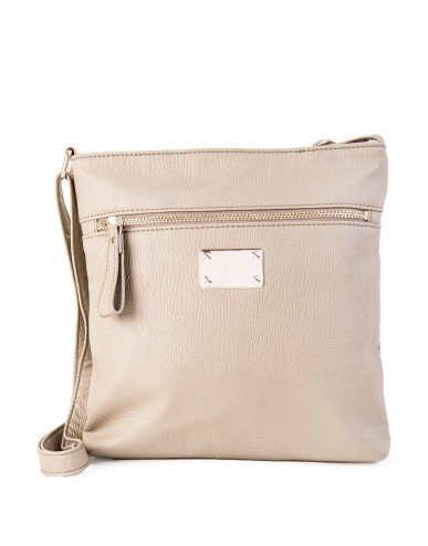 Grey Embellished Mottled Sling Bag