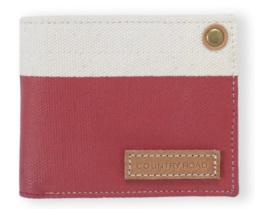 Country Road Canvas Wallet