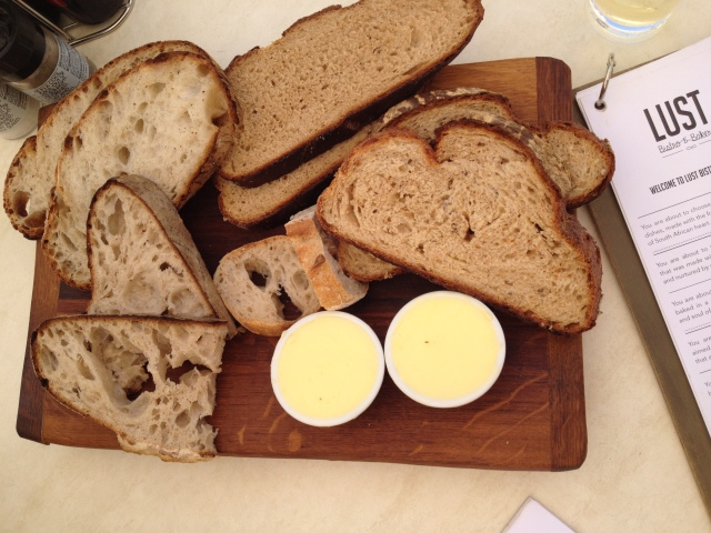 Artisan bread board