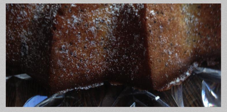 Banana & Poppy seed loaf