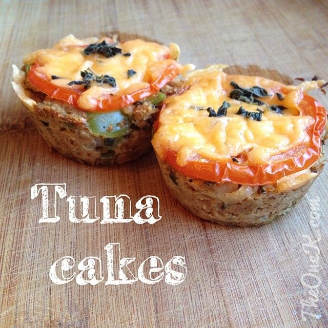 Healthy Tuna Cakes