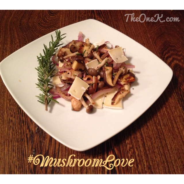 Nouvelle Mushrooms | Shiitake side dish