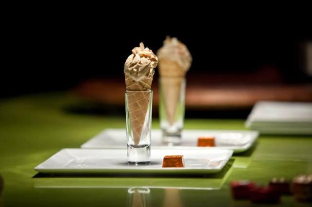 Ice cream at Arugula Bistro
