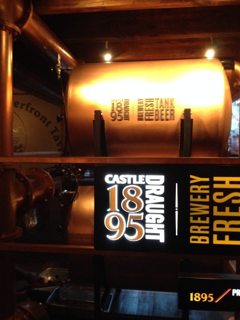 Castle 1895 Draught Brewed Today