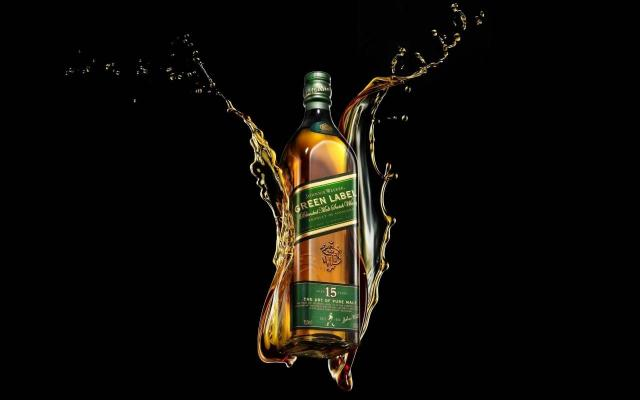 Johnnie Walker Green Label 2